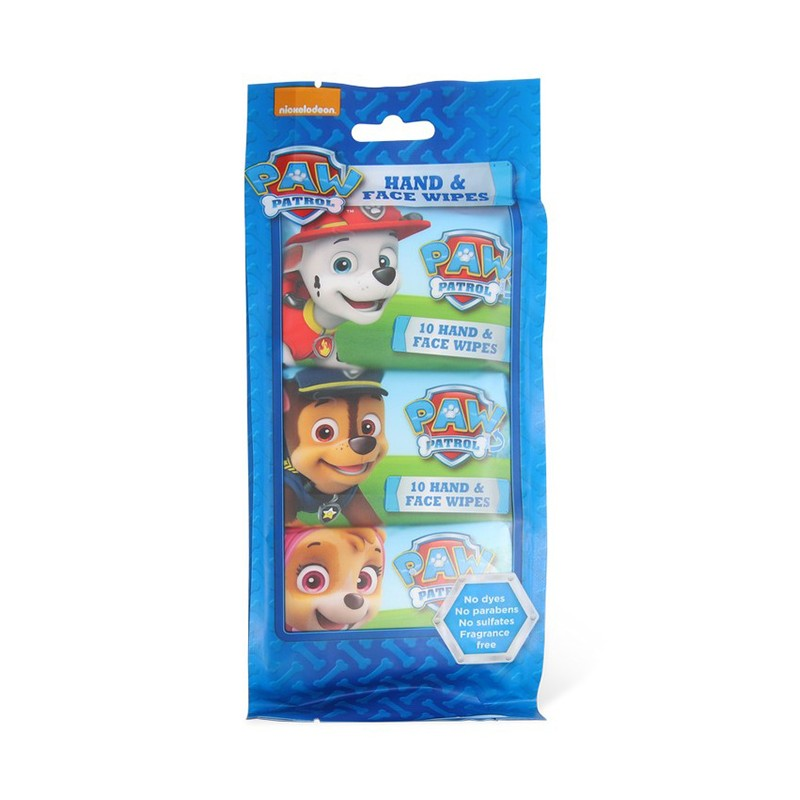 Nickelodeon Paw Patrol Hand & Face Wipes