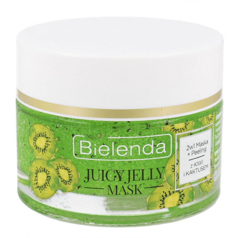 Bielenda Juicy Jelly 2in1 Kiwi Peeling Mask