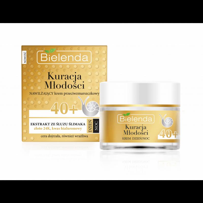 Bielenda Youth Therapy Moisturizing Anti-Wrinkle Cream 40+