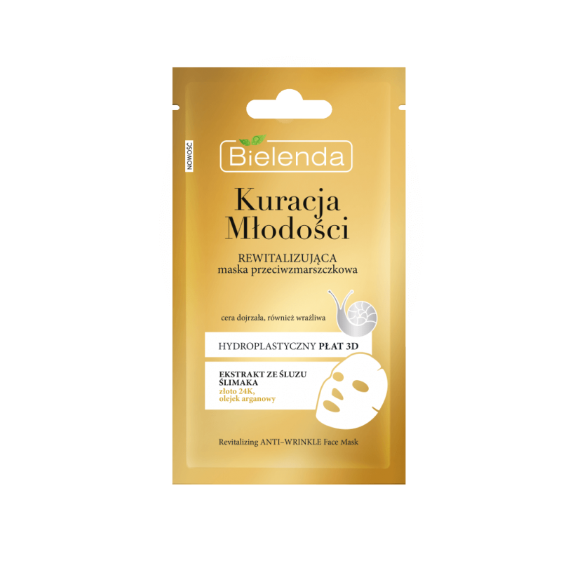 Bielenda Youth Therapy Revitalizing Anti-Wrinkle Sheet Mask