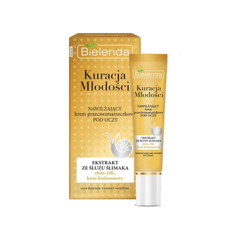 Bielenda Youth Therapy Moisturizing Anti-Wrinkle Eye Cream