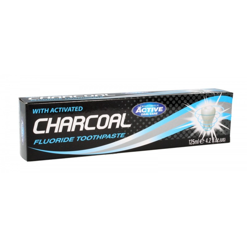Beauty Formulas Active Charcoal Fluoride hammastahna