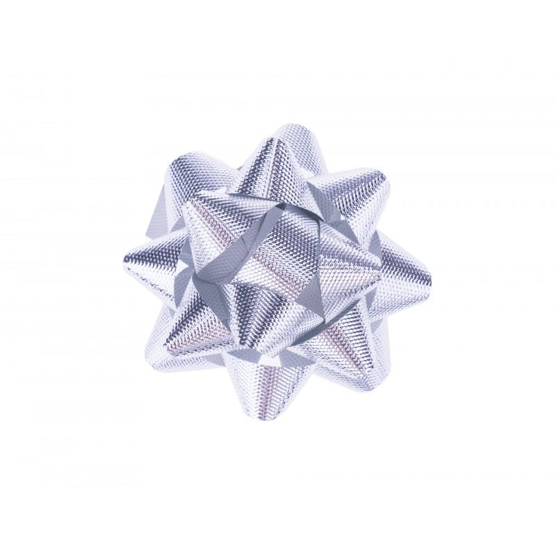 BasicsHome Gift Bow Silver