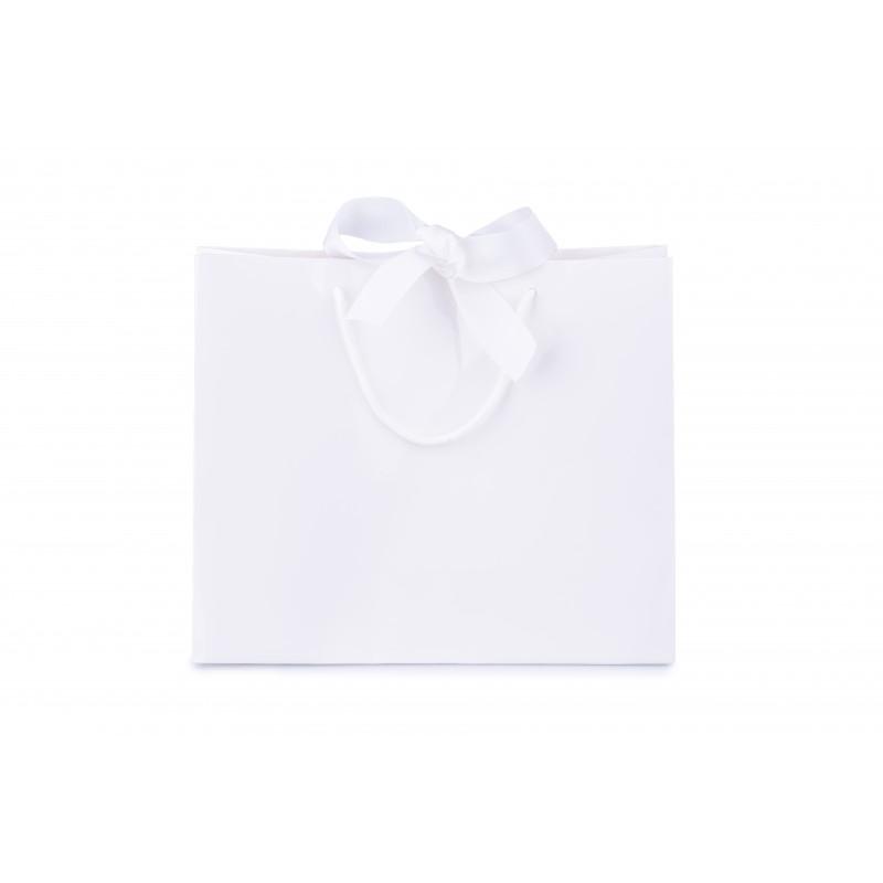 BasicsHome White Gift Bag