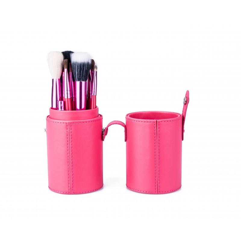 Basics Makeup Brush Set Pink
