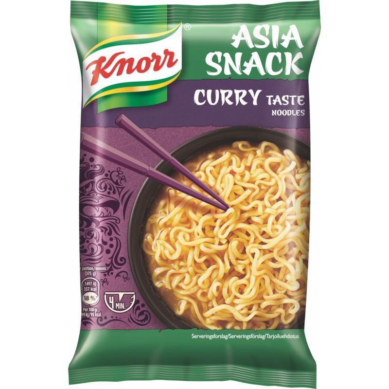 Knorr Nudler med Karrysmag