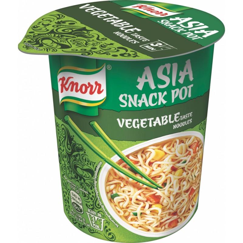Knorr Snack Pot Cup Nudler med Grøntsager