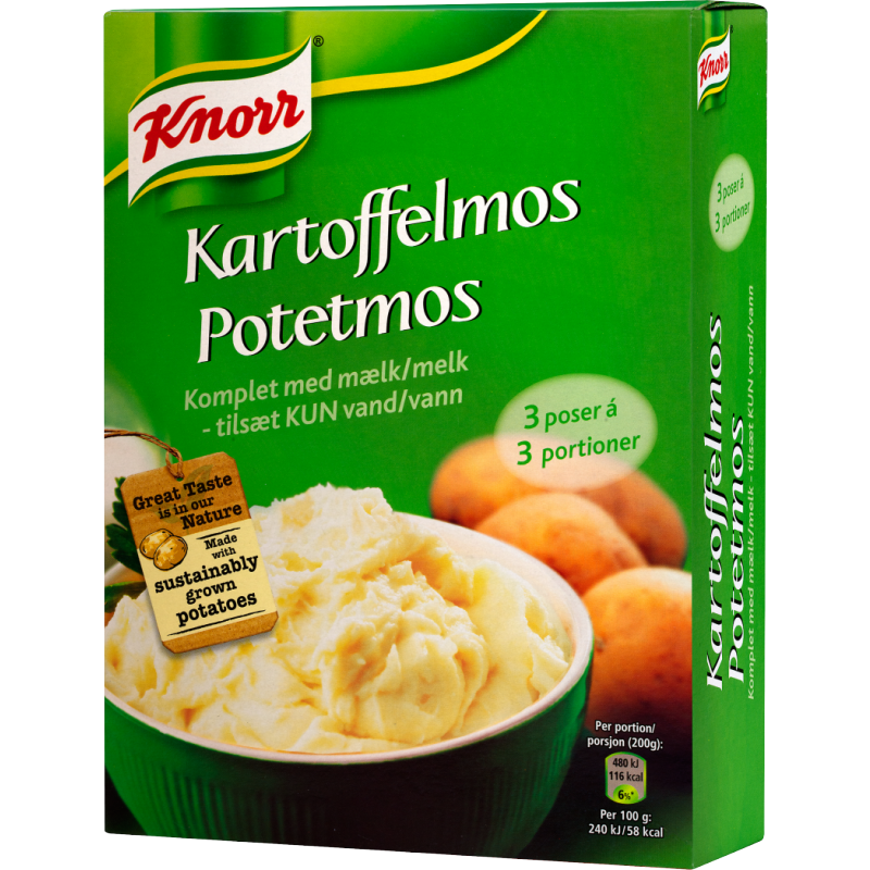 Knorr Kartoffelmos