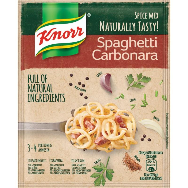 Knorr Spaghetti Carbonara Krydderi Mix