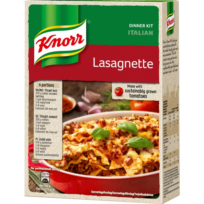 Knorr Lasagnette Mix