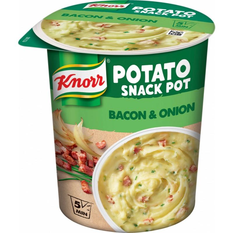 Knorr Snack Pot Kartoffelmos med Bacon & Løg