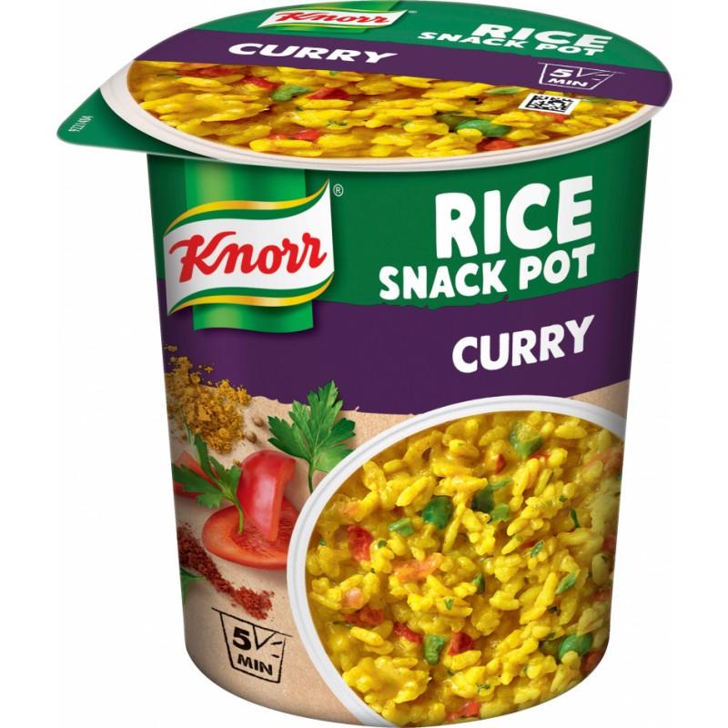 Knorr Snack Pot Ris med Karry