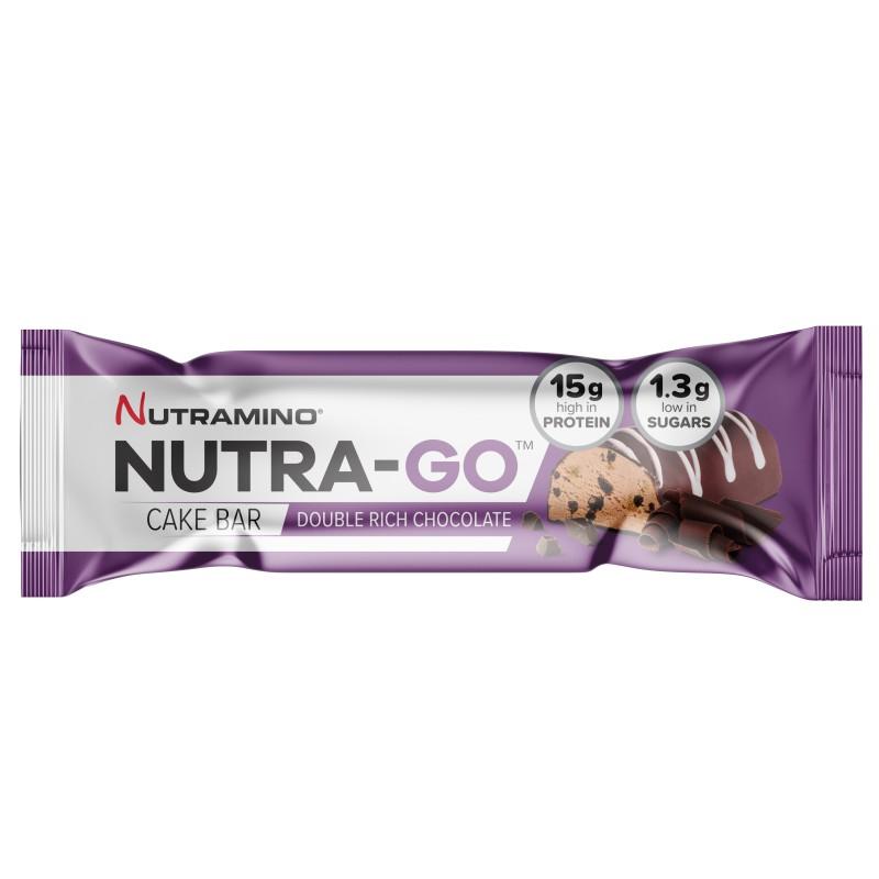 Nutramino Nutra-Go Cake Bar Double Rich Chocolate