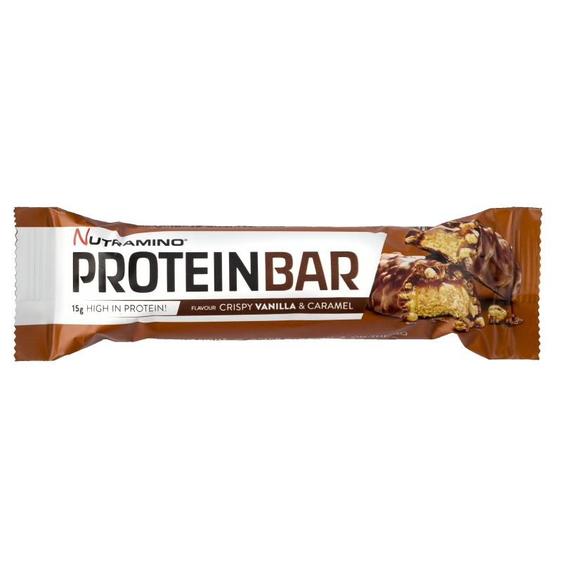 Nutramino Protein Bar Crispy Vanilla & Caramel