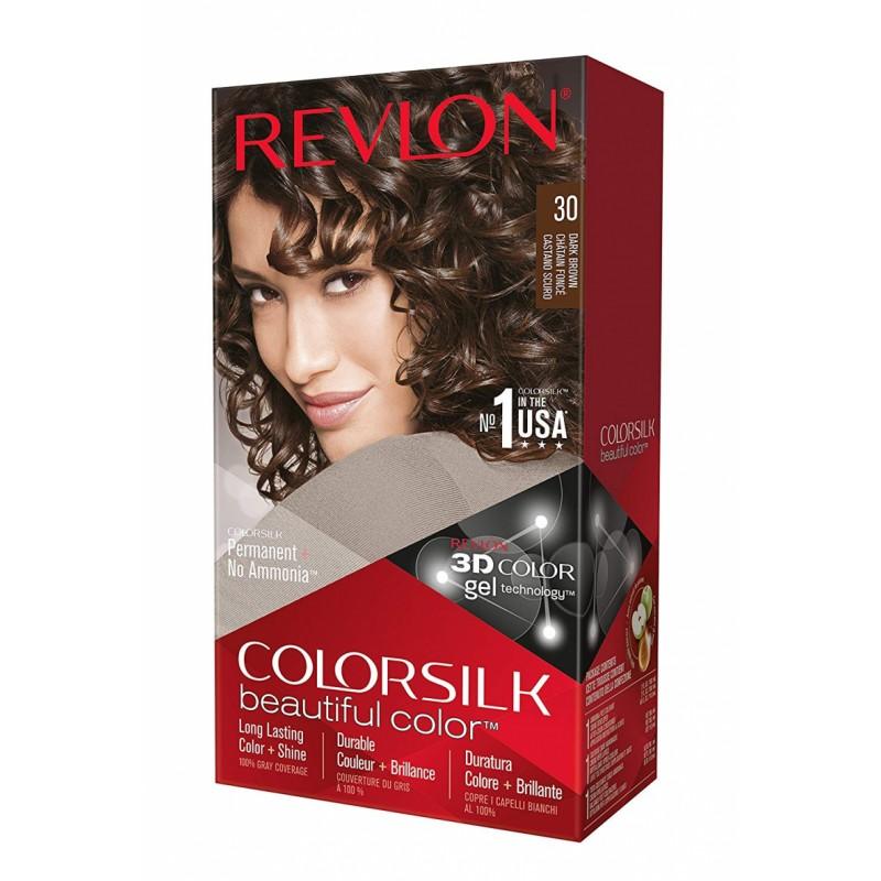 Revlon Colorsilk Permanent Haircolor 30 Dark Brown