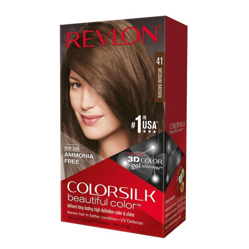 Revlon Colorsilk Permanent Haircolor 41 Medium Brown