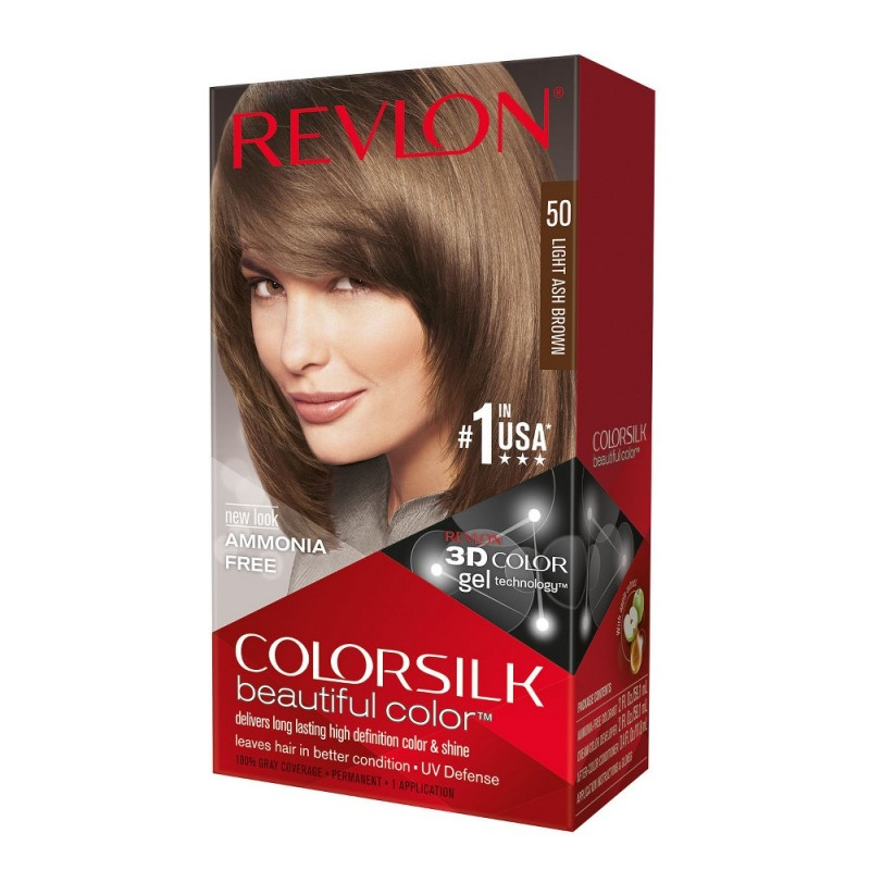 Revlon Colorsilk Permanent Haircolor 50 Light Ash Brown
