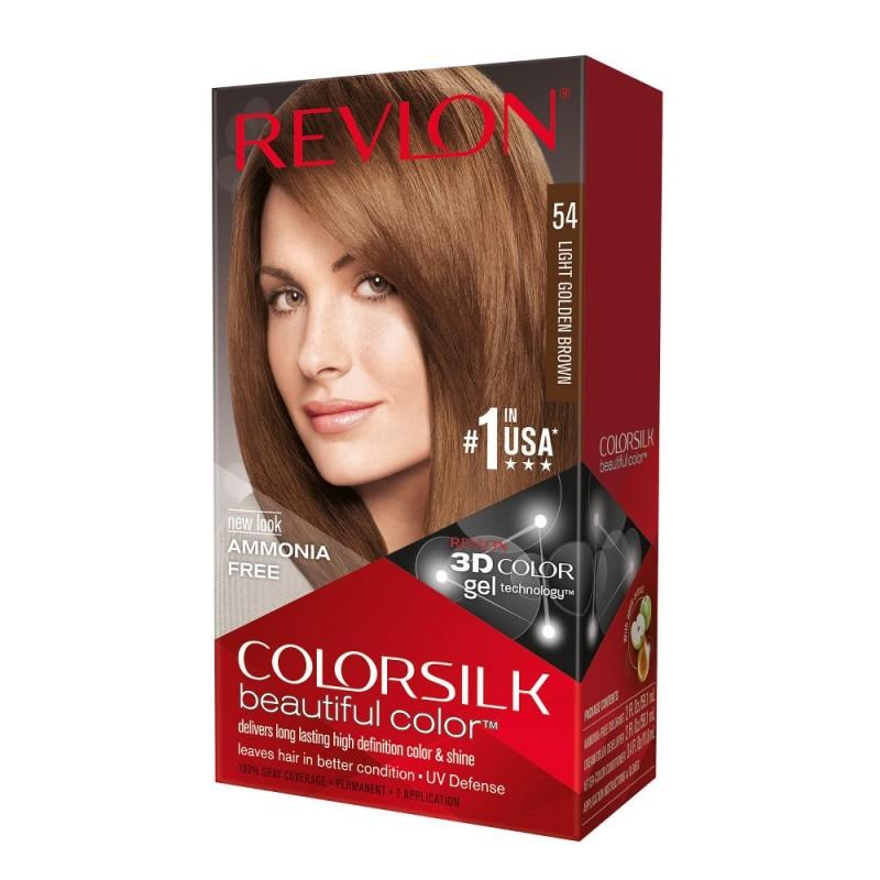 Revlon Colorsilk Permanent Haircolor 54 Light Golden Brown