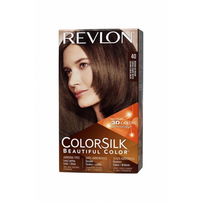 Revlon Colorsilk Permanent Haircolor 40 Medium Ash Brown