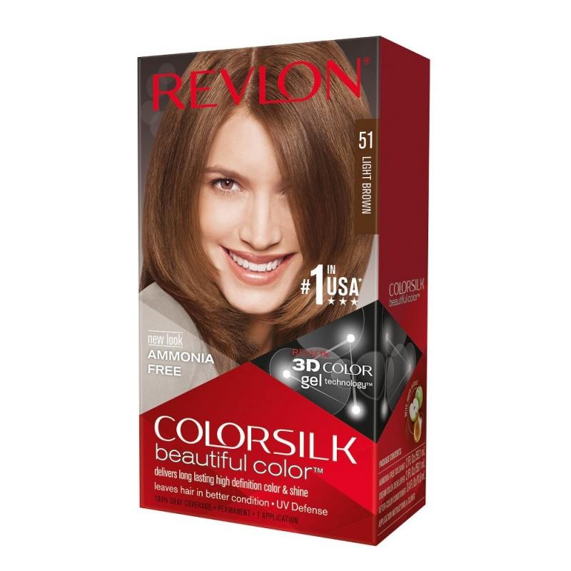 Revlon Colorsilk Permanent Haircolor 51 Light Brown