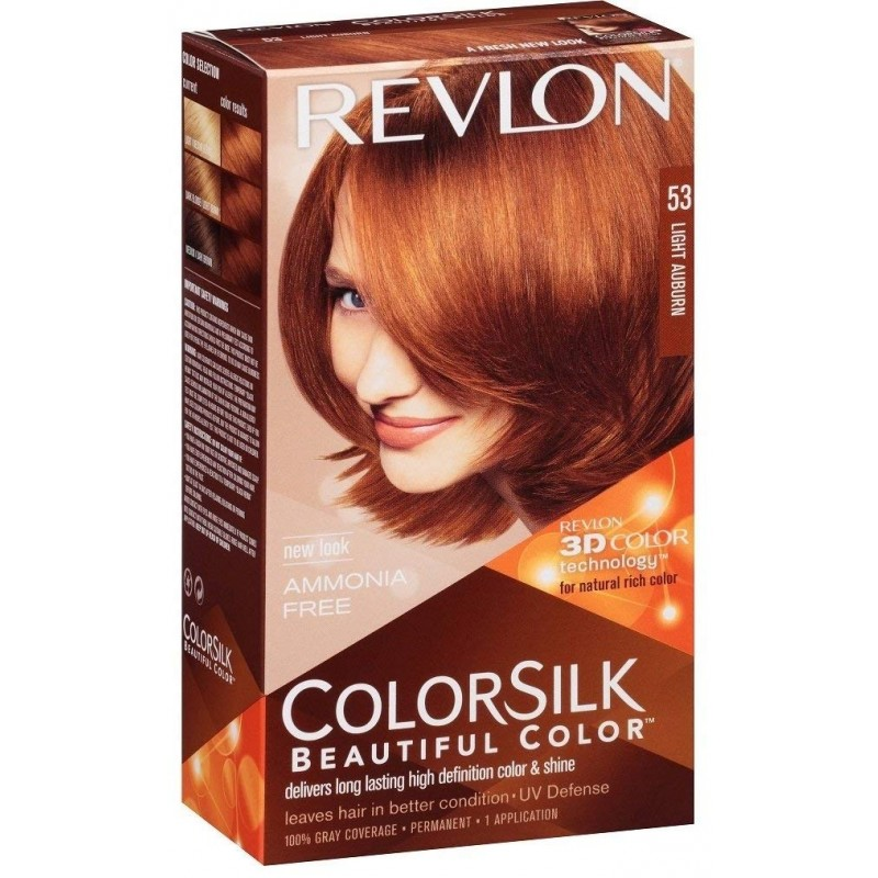 Revlon Colorsilk Permanent Haircolor 53 Light Auburn
