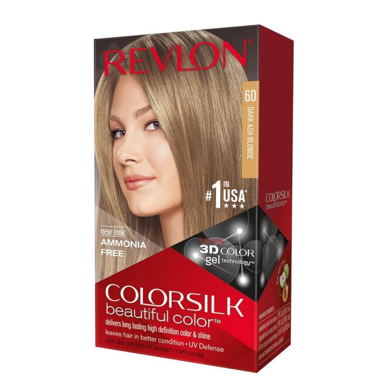 Revlon Colorsilk Permanent Haircolor 60 Dark Ash Blonde