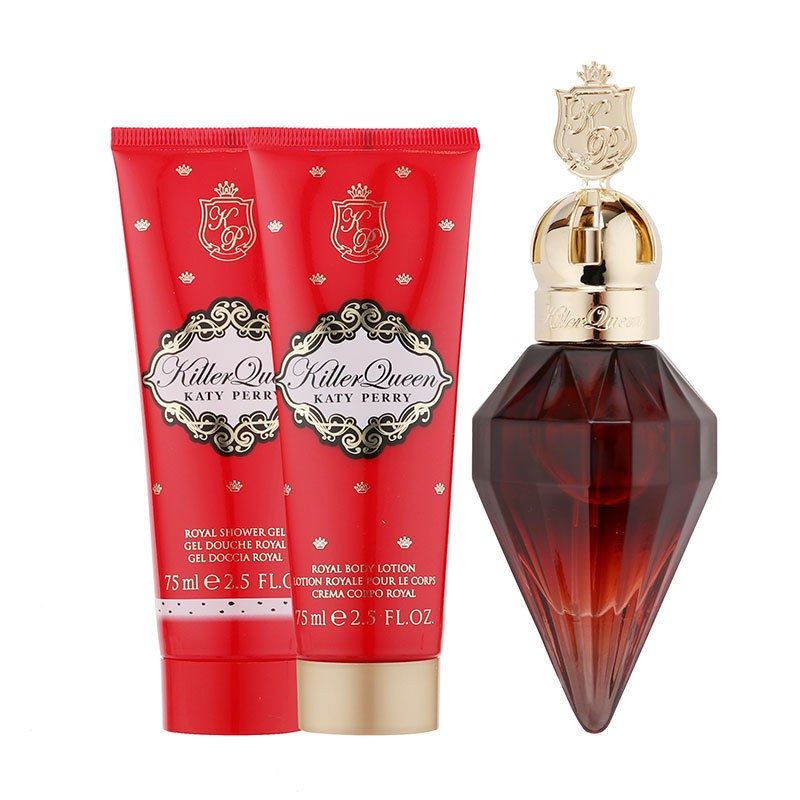 Katy Perry Killer Queen EDP & Body Lotion & Shower Gel