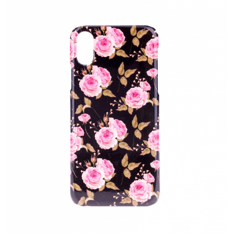 BasicsMobile Rose By Night iPhone X/XS Cover