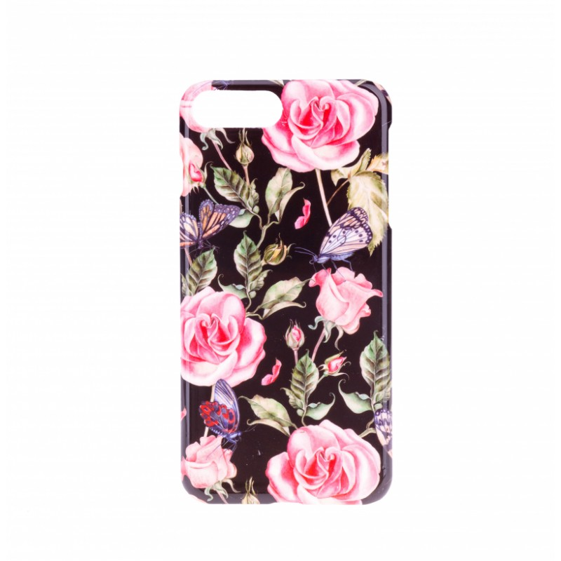 BasicsMobile Roses Of Butterflies iPhone 7/8 Plus Cover