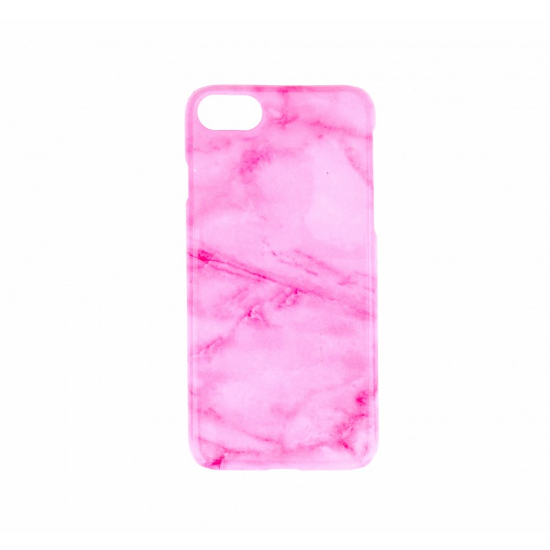 BasicsMobile Pink Marble iPhone 7/8 Plus Cover