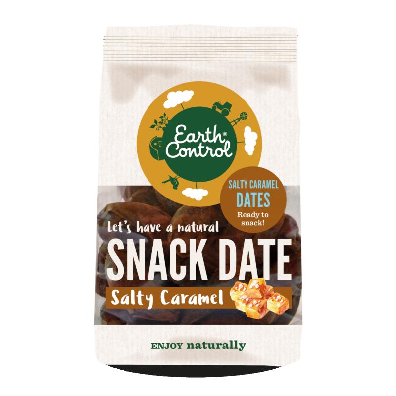 Earth Control Saltede Karamel Snack Dadler