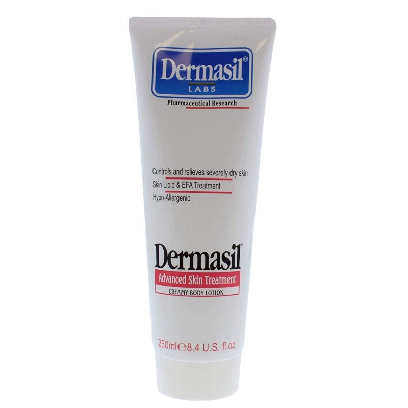 Dermasil Advanced Skin Treatment Creamy Body Lotion