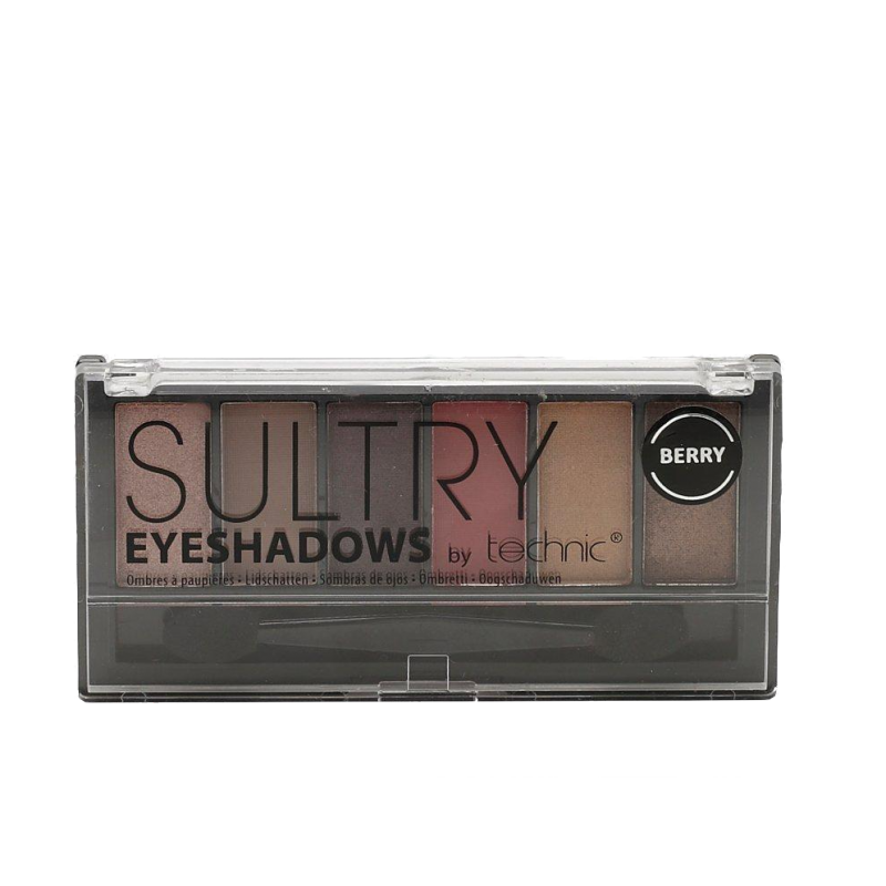 Technic Sultry Eyeshadow Palette Berry