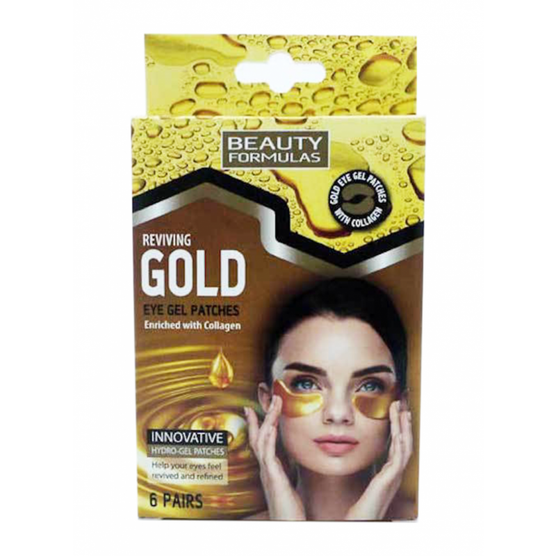 Beauty Formulas Reviving Gold Eye Gel Patches