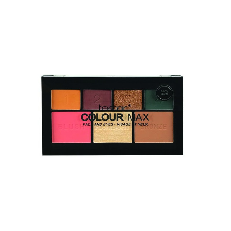 Technic Colour Max Face & Eyeshadow Lady Luck Palette
