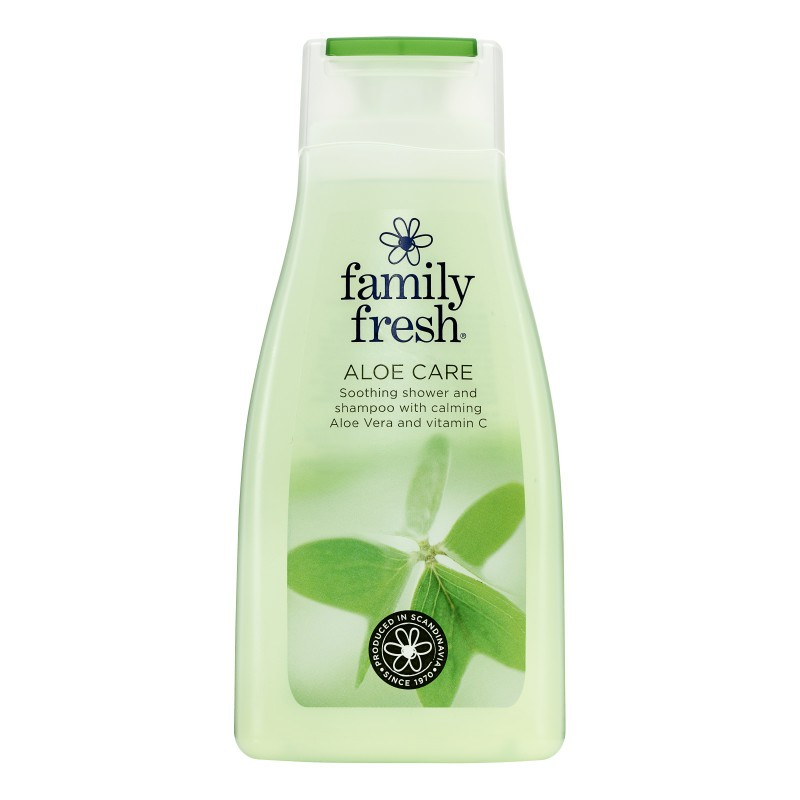 Family Fresh Aloe Care Shower Gel