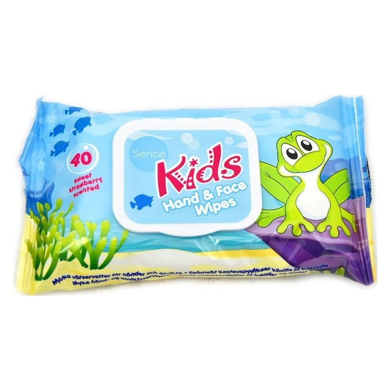 Sence Kids Hand & Face Wipes