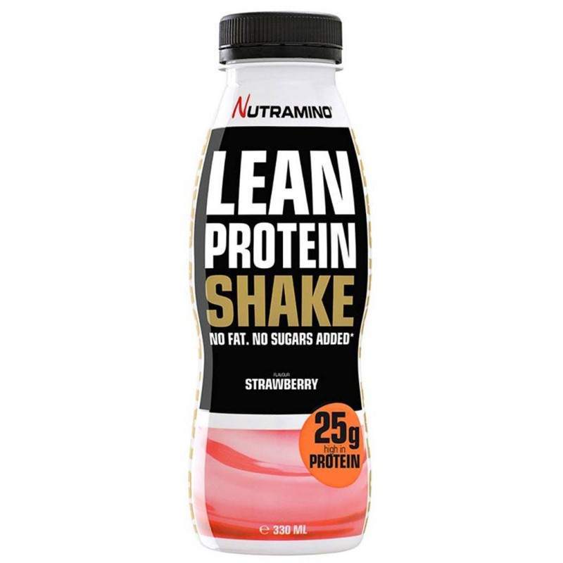 Nutramino Lean Protein Shake Strawberry