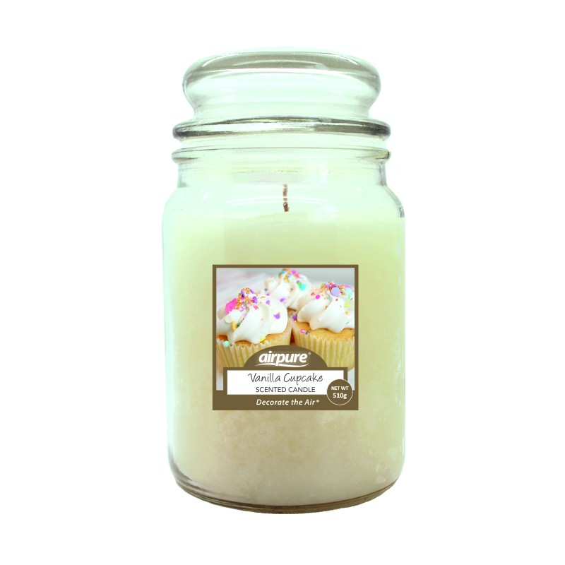 Airpure Vanilla Cupcake Scented Candle