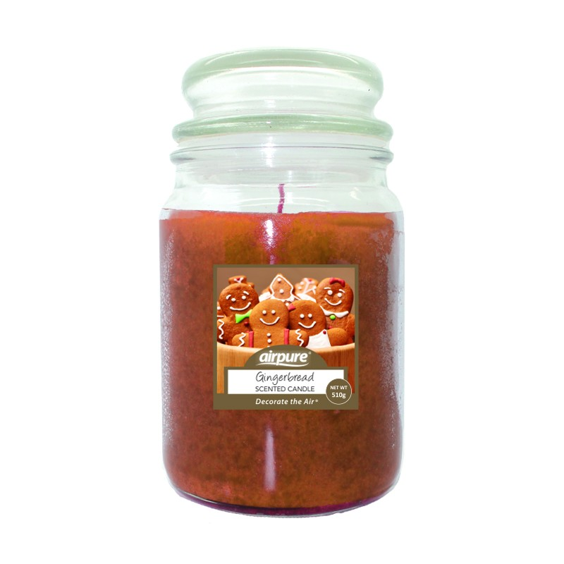 Airpure Gingerbread Scented Candle