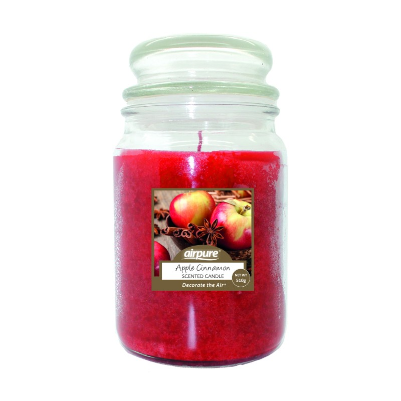 Airpure Apple Cinnamon Scented Candle