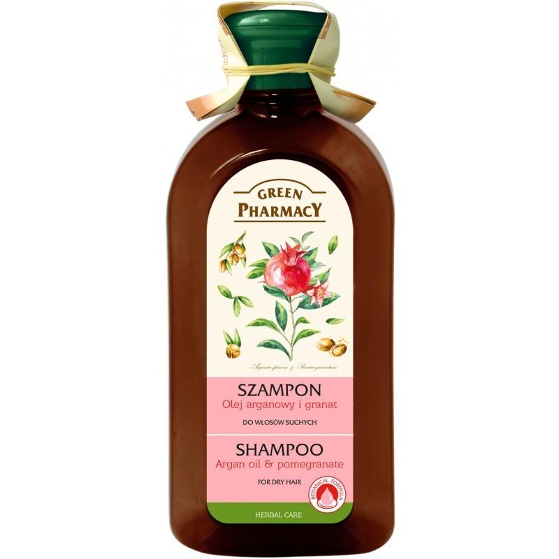 Green Pharmacy Argan Oil & Pomegranate Shampoo Dry Hair