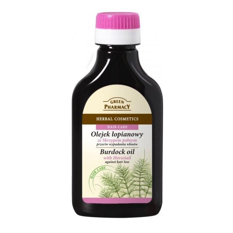 Green Pharmacy Horsetail Burdock Oil Hair Loss