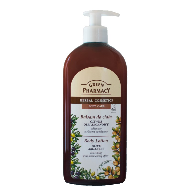 Green Pharmacy Olive & Argan Nourishing Body Lotion