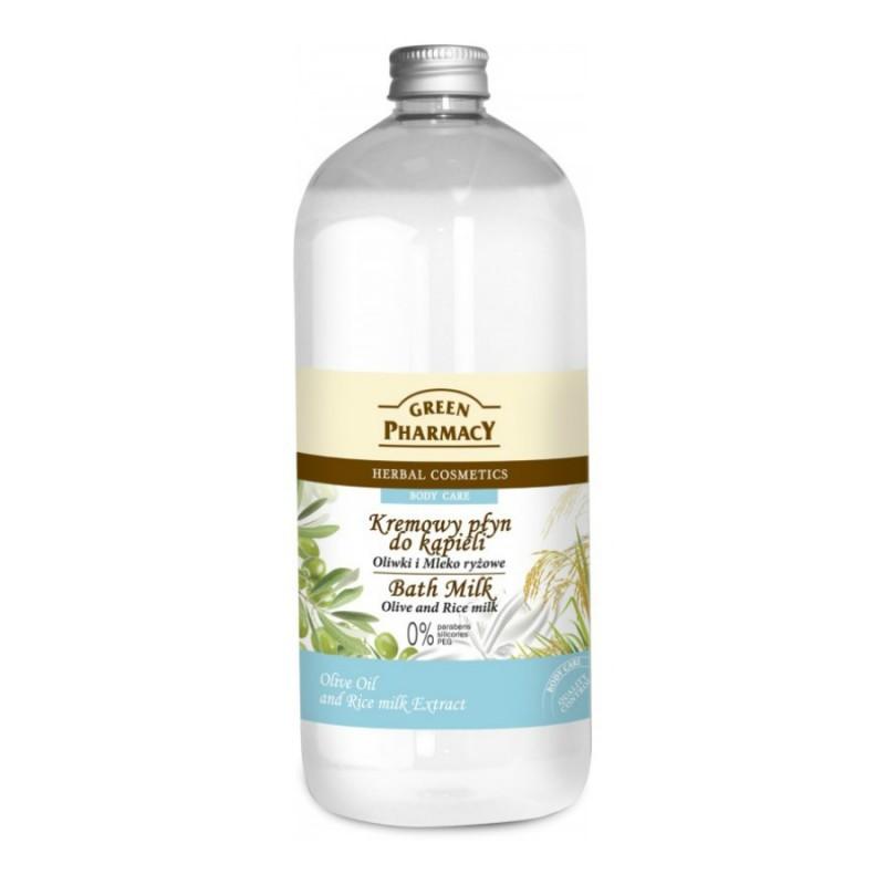 Green Pharmacy Olive & Rice Milk Bath Milk