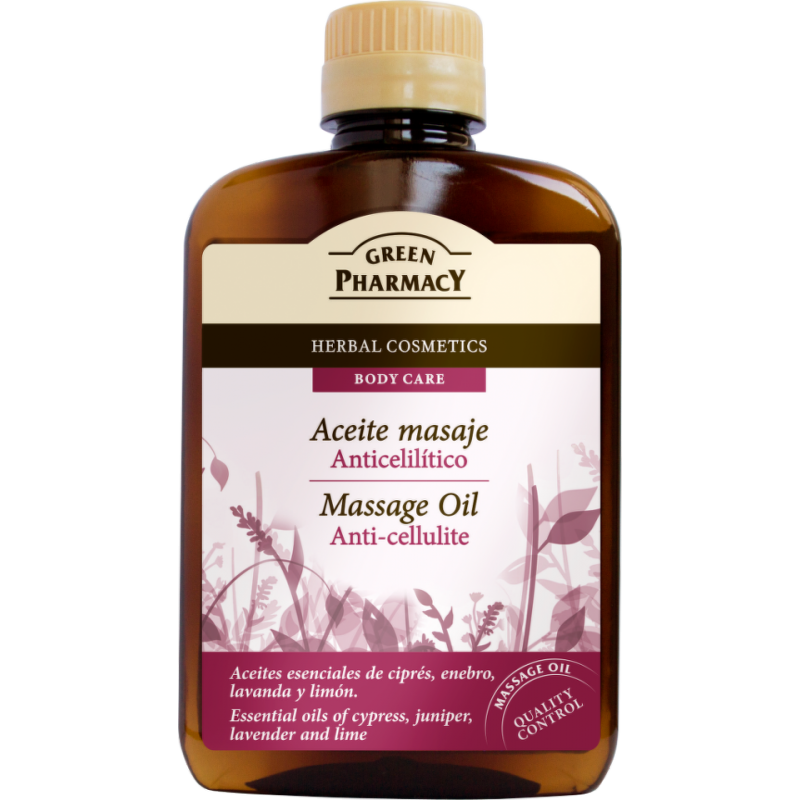 Green Pharmacy Anti-Cellulite Massage Oil