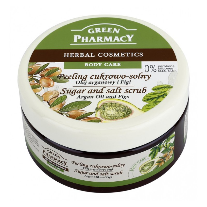 Green Pharmacy Argan Oil & Figs Sugar & Salt Scrub