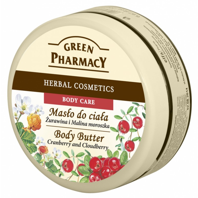 Green Pharmacy Cranberry & Cloudberry Body Butter