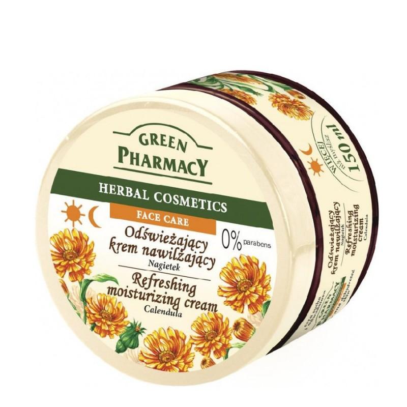 Green Pharmacy Calendula Refreshing Moisturizing Cream