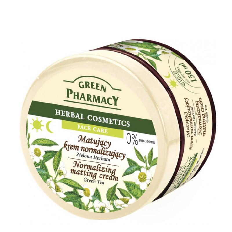 Green Pharmacy Green Tea Normalizing Matting Cream